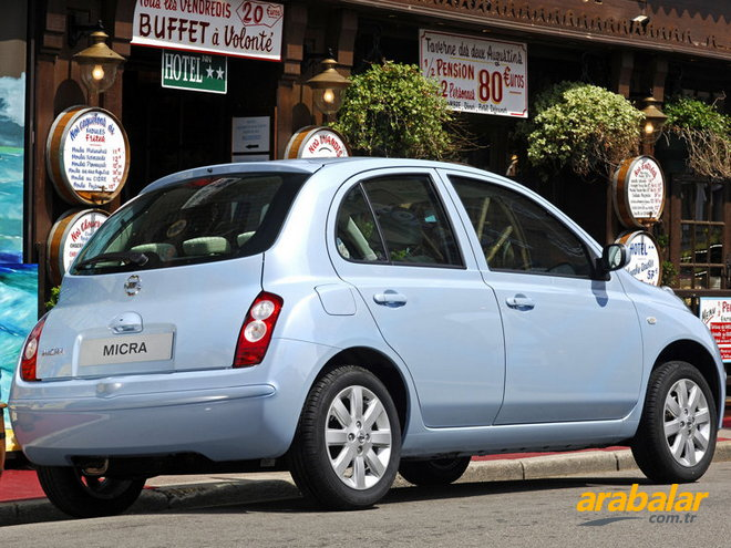 2006 Nissan Micra 1.2 Mood 80 HP