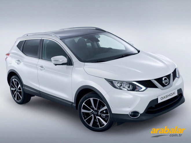 2014 Nissan Qashqai 1.5 DCi Tekna Sky Pack Intelligent Key Start-Stop