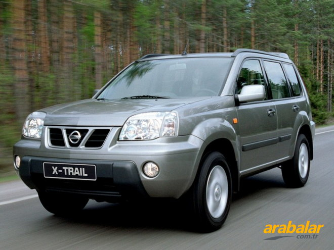 2004 Nissan X-Trail 2.0 Luxury Otomatik