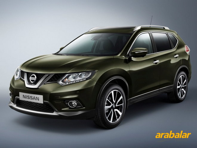 2015 Nissan X-Trail 1.6 DCi Black Edition X-Tronic