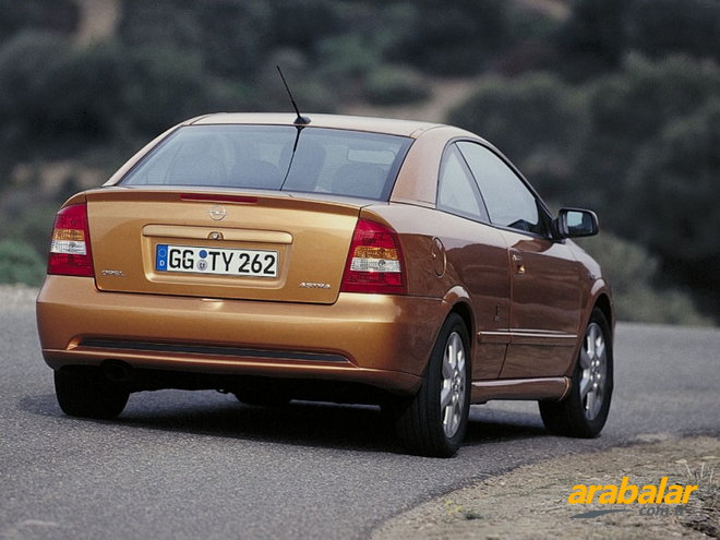 2001 Opel Astra Coupe 1.8