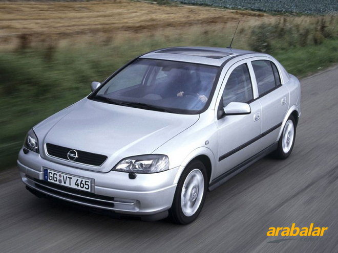 2003 Opel Astra 1.6 Enjoy Plus