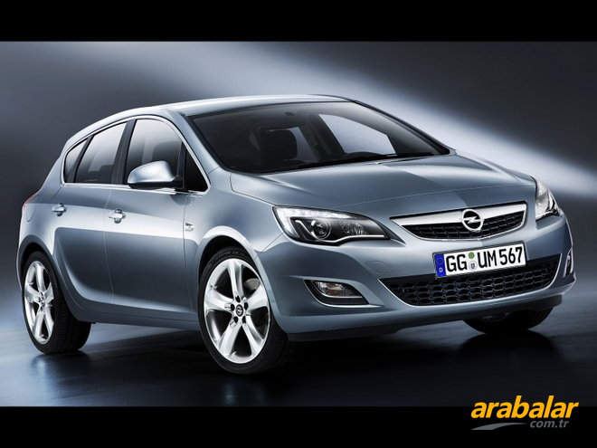 2011 Opel Astra 1.4 T Enjoy Plus Active Select