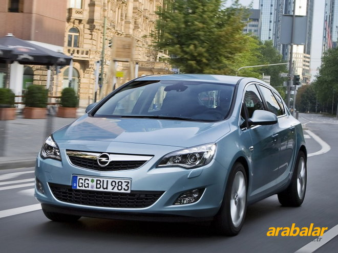 2010 Opel Astra 1.6 T Cosmo Active Select