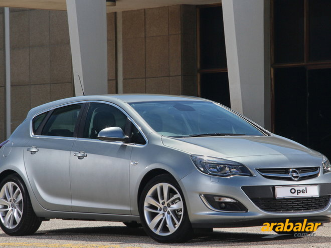 2013 Opel Astra 1.6 T Sport Active Select