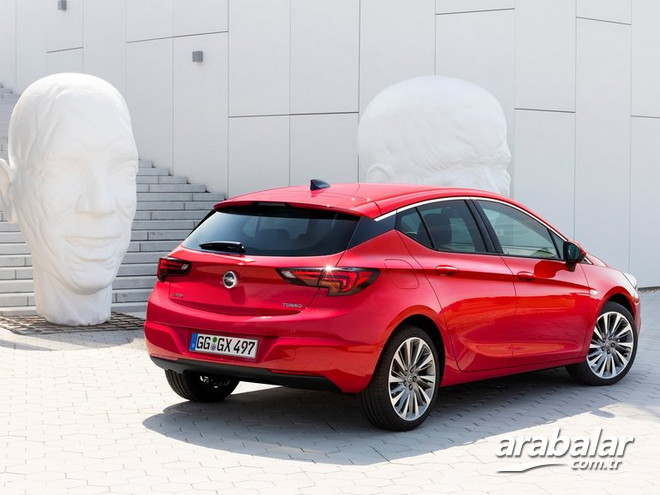 2015 Opel Astra 1.6 CDTI Dynamic AT