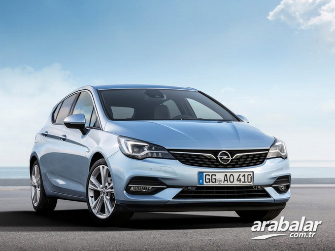 2020 Opel Astra 1.5d Edition AT