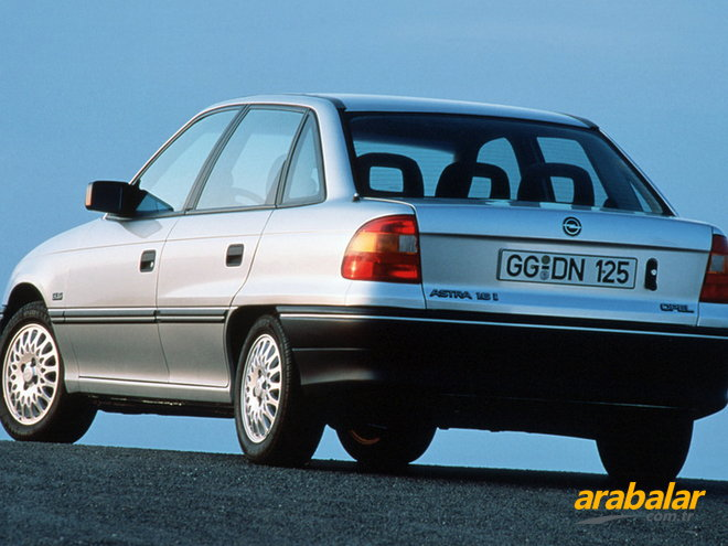 1993 Opel Astra Sedan 1.8 CD