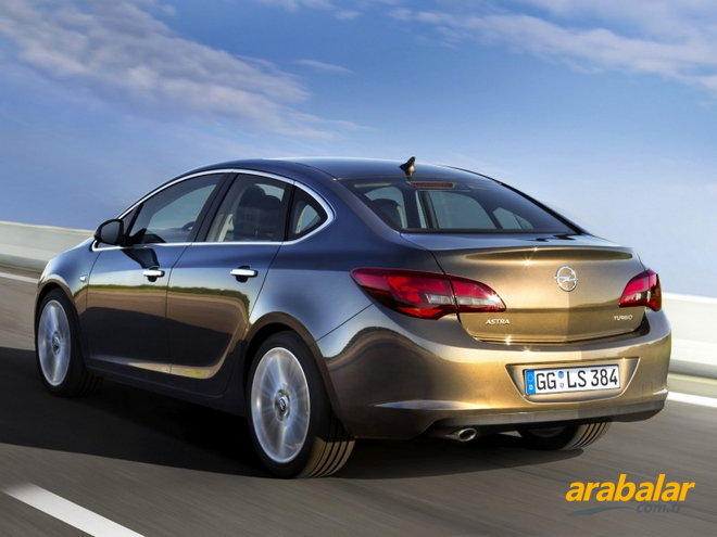 2015 Opel Astra Sedan 1.6 Edition