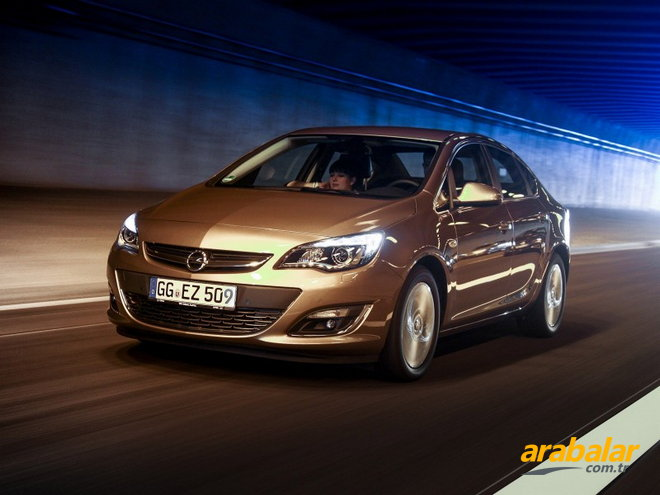 2012 Opel Astra Sedan 1.6 Enjoy Plus