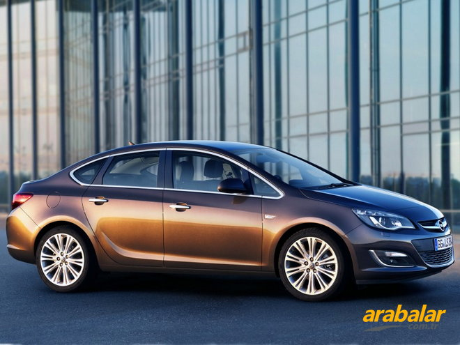 2015 Opel Astra Sedan 1.6 CDTi Edition 136 HP