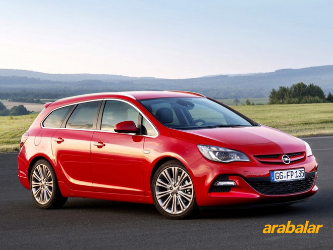 2013 Opel Astra Sports Tourer 1.4 T Cosmo Active Select