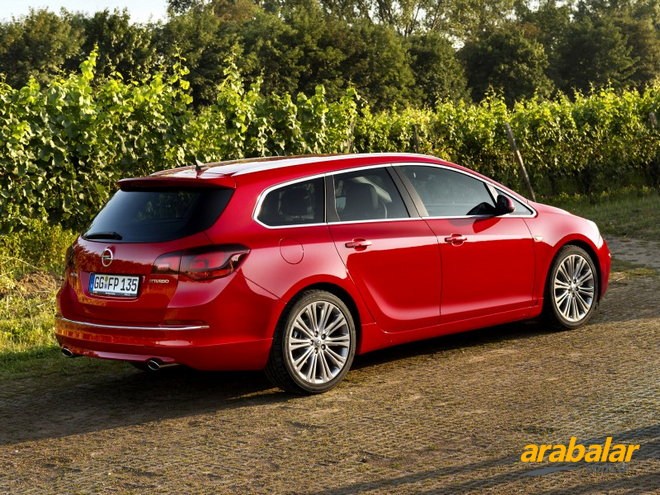 2012 Opel Astra Sports Tourer 1.6 Cosmo Active Select