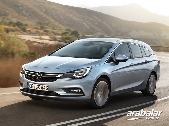 2017 Opel Astra Sports Tourer 1.6 CDTi Excellence AT