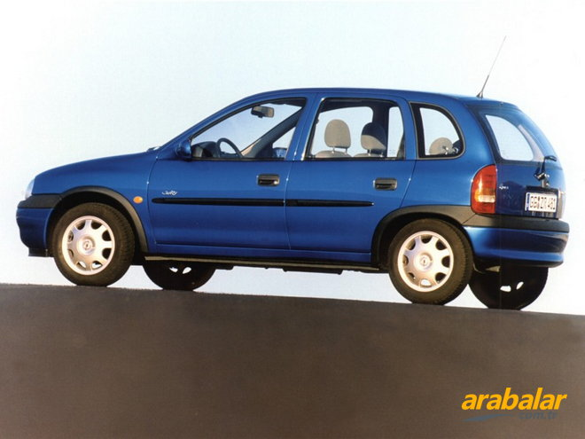 1999 Opel Corsa 1.4 i 16V Swing CD