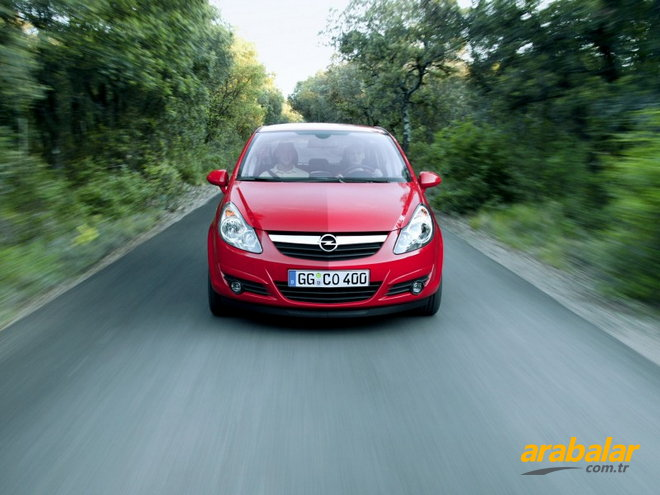 2009 Opel Corsa 1.3 CDTI Enjoy 75 HP