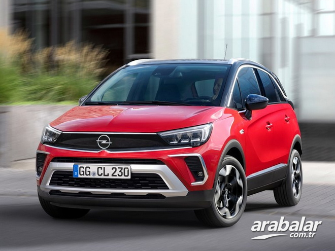2021 Opel Crossland 1.2 Elegance AT