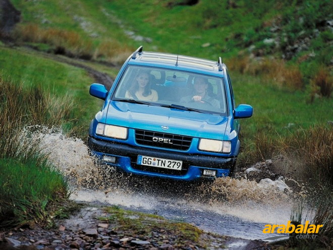 1998 Opel Frontera 2.2 DTI Limited
