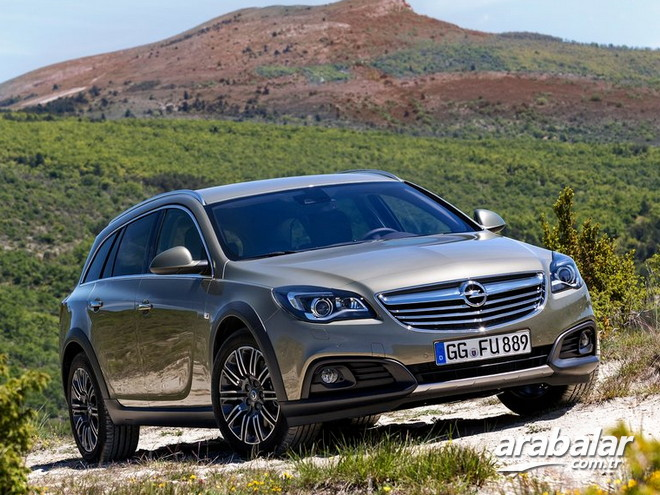 2017 Opel Insignia Country Tourer 1.6 CDTi Cosmo AT