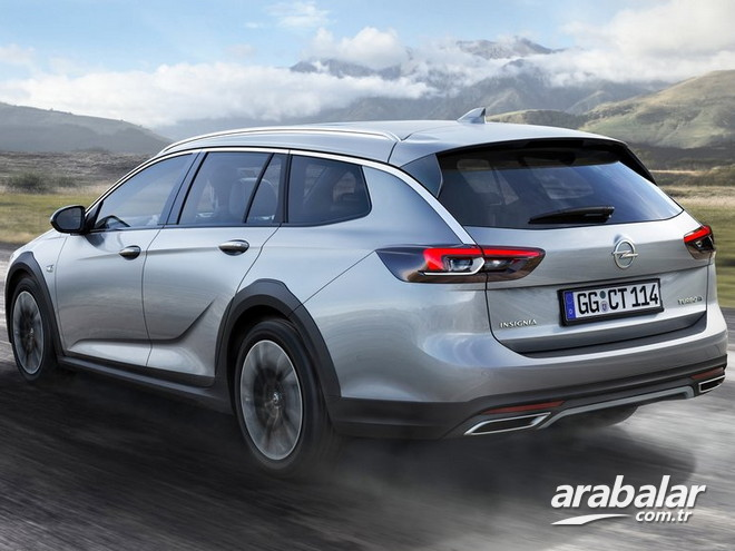 2017 Opel Insignia Country Tourer 2.0 Excellence AT 4x4