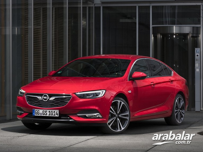 2017 Opel Insignia Grand Sport 1.5 Excellence AT