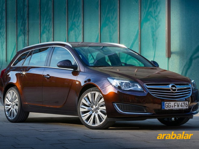 2016 Opel Insignia Sports Tourer 1.6 CDTi Cosmo AT