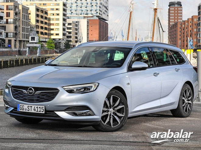 2017 Opel Insignia Sports Tourer 1.5 Excellence AT