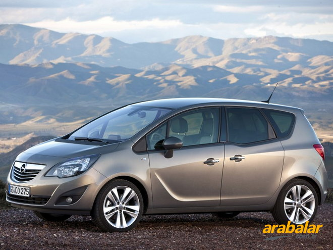 2010 Opel Meriva 1.4 Enjoy