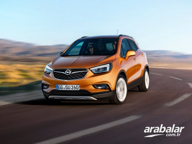 2018 Opel Mokka X 1.6 CDTi Enjoy AT