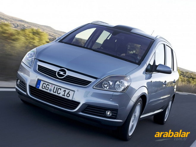 2010 Opel Zafira 1.9 CDTI Enjoy Active Select 120 HP