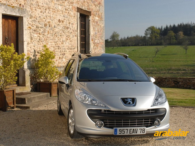 2008 Peugeot 207 SW 1.6 HDi Outdoor