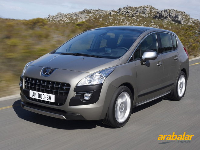 2012 Peugeot 3008 1.6 e-HDi Active Start-Stop Auto6R