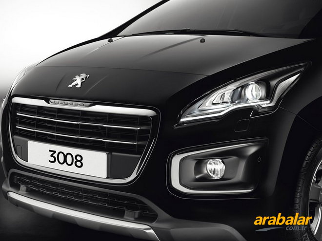 2015 Peugeot 3008 1.6 BlueHDi Active AT