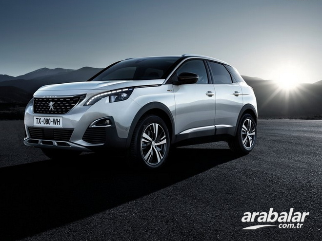 2018 Peugeot 3008 1.6 BlueHDi Active Sport Pack