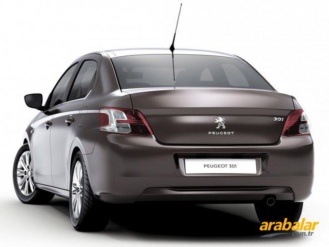 2012 Peugeot 301 1.6 HDi Active