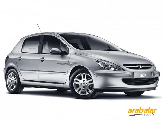 2004 peugeot 307 1.4 hdi xr - arabalar.tr