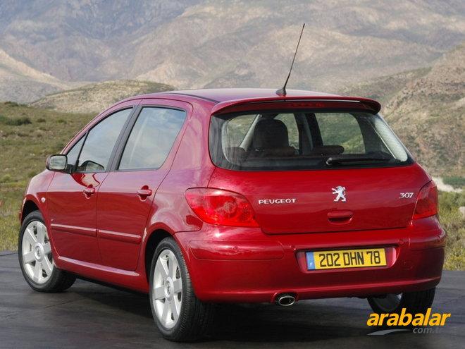 2008 peugeot 307 1.6 designtech otomatik - arabalar.tr