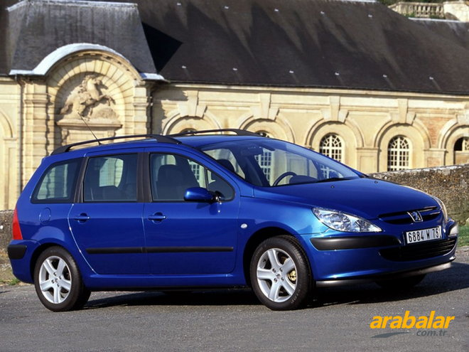 2002 Peugeot 307 1.6 Profil Break