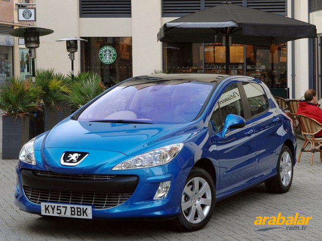 2010 Peugeot 308 1.6 HDi Comfort Pack Auto6R