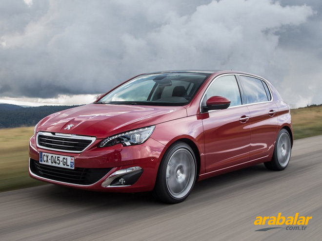 2014 Peugeot 308 1.2 PureTech Active Start-Stop EAT6