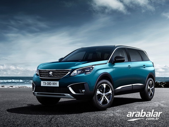 2017 Peugeot 5008 1.6 BlueHDi Allure Elegance Pack EAT6