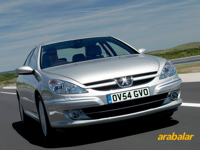 2004 Peugeot 607 2.2 Executive Tiptronic