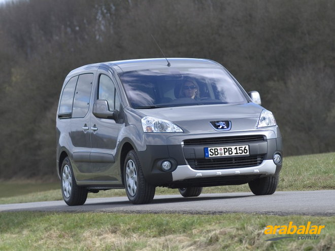 2011 Peugeot Partner 1.6 HDi Origin Adventure Pack