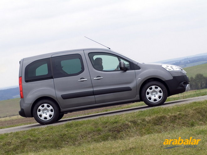 2011 Peugeot Partner Tepee 1.6 HDi Outdoor