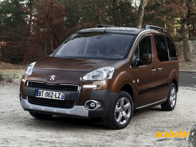 2013 Peugeot Partner Tepee 1.6 HDi Outdoor