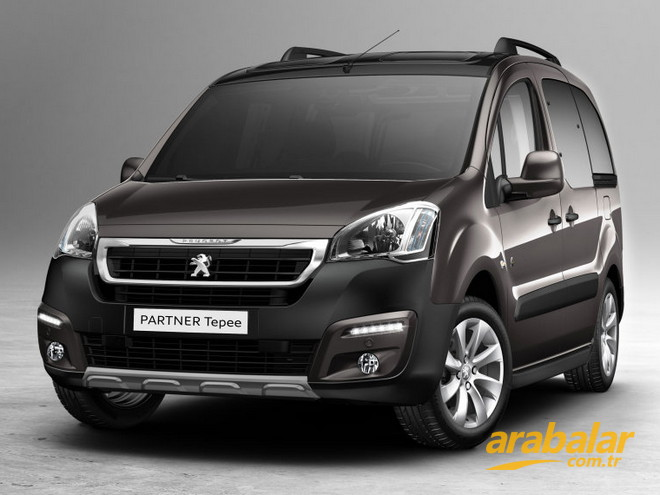2015 Peugeot Partner Tepee 1.6 HDi Active 115 hp