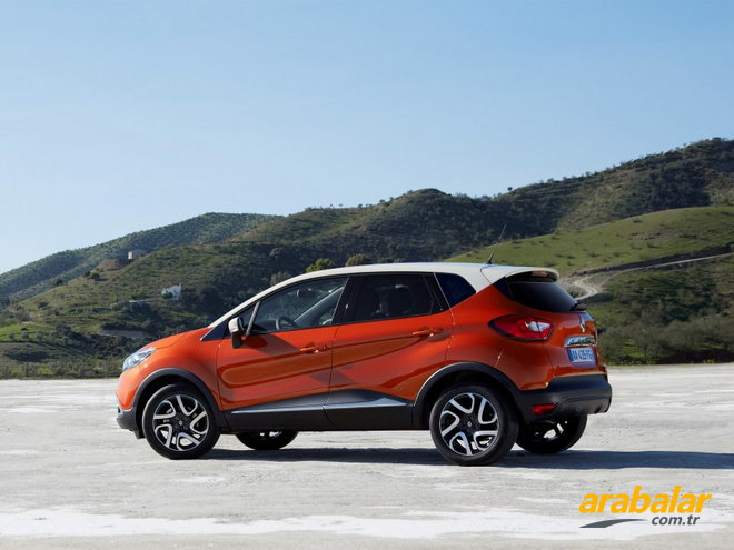 2013 Renault Captur 0.9 Turbo Touch Start-Stop