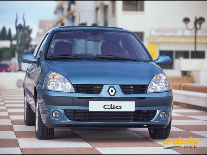2005 Renault Clio 3K 1.5 DCi Authentique 68 HP