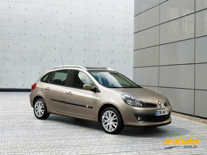 2009 Renault Clio Grand Tour 1.2 Authentique