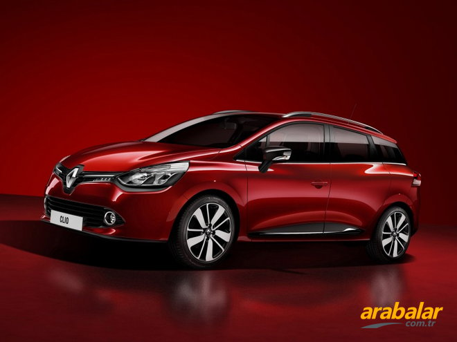 2014 Renault Clio Sport Tourer 1.2 Turbo Icon EDC